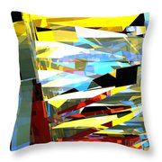 Tower Series 40 Throw Pillow