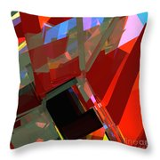 Tower Series 41 Mineshaft Throw Pillow