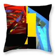 Tower Series 42 Diving Board Throw Pillow