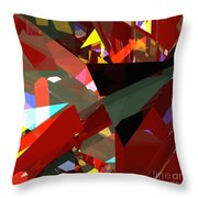 Tower Series 45 Angels And Demons Throw Pillow