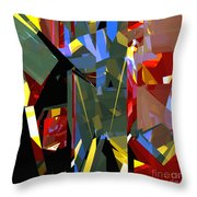 Tower Series 46 Throw Pillow