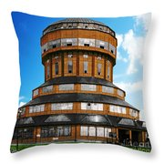 Tower That Inspired Metropolis Throw Pillow