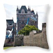 Tower Tower Throw Pillow