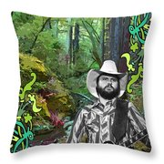 Toy In The Woods 3 Throw Pillow