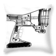 Toy Vortex Gun Throw Pillow