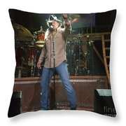 Trace Adkins Throw Pillow