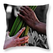 Trade Throw Pillow