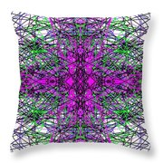 Trafficated Throw Pillow