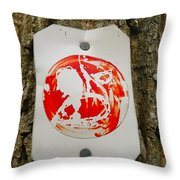 Trail Art - Fish Bowl Throw Pillow
