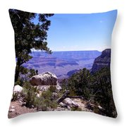 Trail To The Canyon Throw Pillow