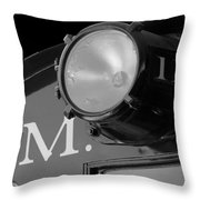 Train Headlight Throw Pillow