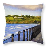 Tramore County Waterford Throw Pillow