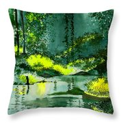 Tranquil 1 Throw Pillow