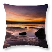 Tranquil Morning Throw Pillow