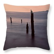 Tranquil Sea Throw Pillow