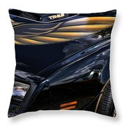 Trans-am Throw Pillow