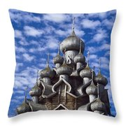 Transfiguration Cathedral Throw Pillow