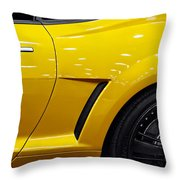 Transformers Camaro Throw Pillow
