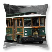 Transportation. Charlottesville Va Throw Pillow