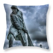 Trawlermens Memorial 2 Throw Pillow