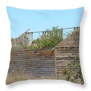 Tree Crib Throw Pillow
