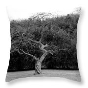 Tree Dancer Throw Pillow