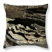 Tree Growth Throw Pillow