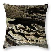 Tree Growth Throw Pillow