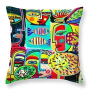 Tree Of Life Journey Throw Pillow