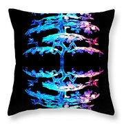 Tree Over Tree Throw Pillow