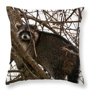 Treed  3331 Throw Pillow