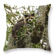 Treed Throw Pillow