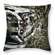 Trees And Trunk Throw Pillow