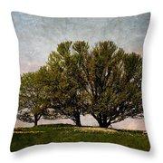Trees Of Life Throw Pillow