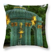 Trellis At Schloss Sanssouci Throw Pillow