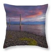 Trestle Creek Shore Throw Pillow