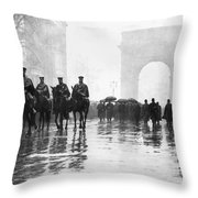 Triangle Fire Memorial, 1911 Throw Pillow