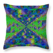 Triangulation Revisited Throw Pillow