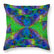 Triangulation Throw Pillow