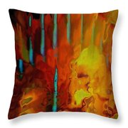 Tribal Tribute Throw Pillow