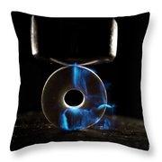 Triboluminescence Throw Pillow