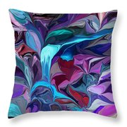 Trickles Throw Pillow