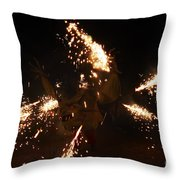 Trigger Dragon Throw Pillow