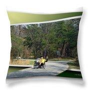 Trike Wave Throw Pillow