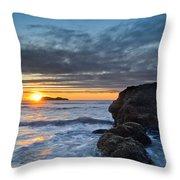 Trinidad Sunset In Autumn Throw Pillow
