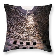 Trinitarian Friary, Adare, Co Limerick Throw Pillow