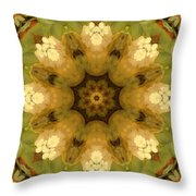 Trio Green Throw Pillow