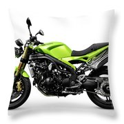 Triumph Speed Triple Motorcycle Throw Pillow