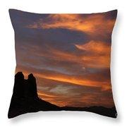 Trona Pinnacles 7 Throw Pillow