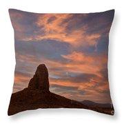 Trona Pinnacles 8 Throw Pillow
